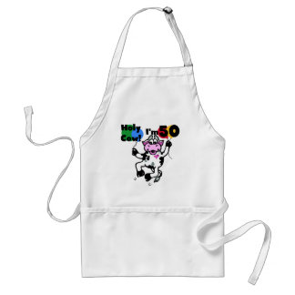 Holy Cow I'm 50 Tshirts and Gifts Standard Apron