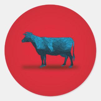 Holy Cow... No.1 Farm Series Classic Round Sticker