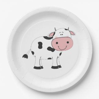 Holy Cow Paper Plate