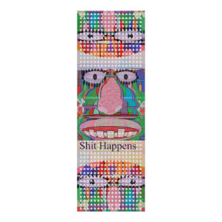 HOLY COW - Stuff  Happens Poster