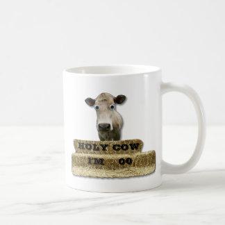 `HOLY COW!-You add age or somethingt else-Mug Basic White Mug