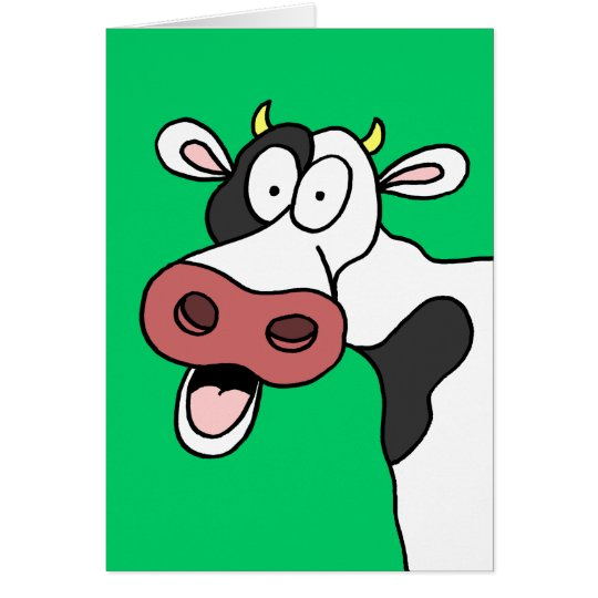 Holy Cow You're 70! Funny 70th Birthday Card