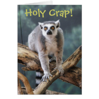 """""""Holy Crap"""" Customizable Card for Any Occasion"""