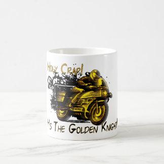 Holy Crap! Golden Knight! Basic White Mug