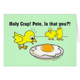 Holy Crap! Pete, is that you? Greeting Card