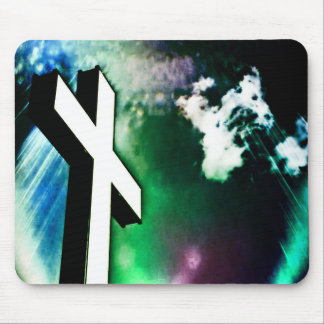Holy Cross Devine Color Mouse Pad