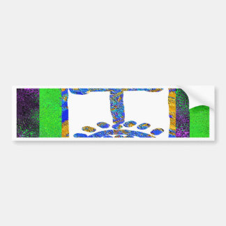 Holy Cross - Love you Jesus Bumper Stickers