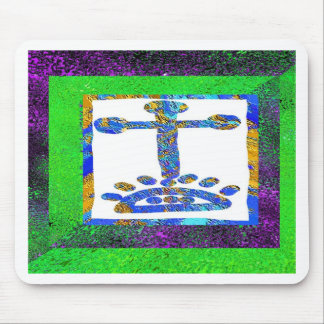 Holy Cross - Love you Jesus Mouse Pad