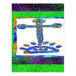 Holy Cross - Love you Jesus Postcard