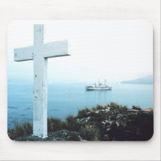 Holy Cross on an Island Mouse Pad