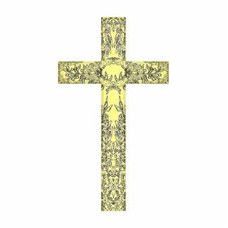 """Holy Cross"" Photo Sculpture Key Ring"