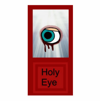 Holy EyE Standing Photo Sculpture