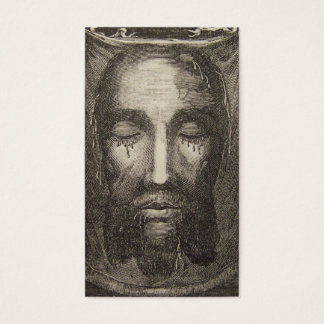 Holy Face of Jesus Devotion Card