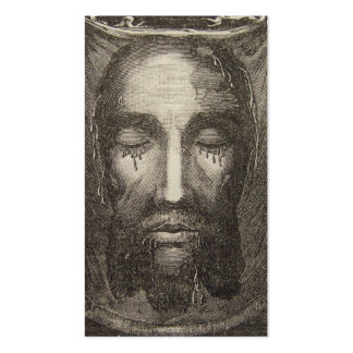 Holy Face of Jesus Devotion Card Pack Of Standard Business Cards