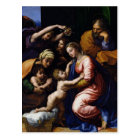 Holy Family , 1518 Postcard