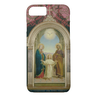 Holy Family, 1898 (tempera on panel) iPhone 8/7 Case