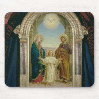 Holy Family, 1898 (tempera on panel) Mouse Mat