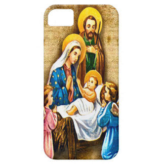 Holy family and angels case for the iPhone 5