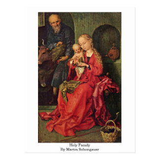 Holy Family By Martin Schongauer Post Cards