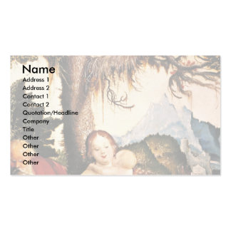 Holy Family In The Open Air Business Card