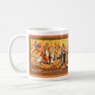 Holy Family returning from Bethlehem. Coffee Mug