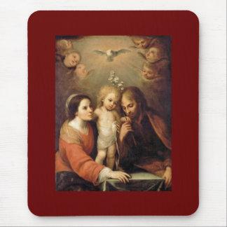 Holy Family - Sacrada Familia Mouse Pad