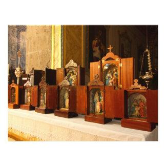 Holy Family shrines 21.5 Cm X 28 Cm Flyer