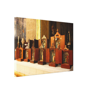 Holy Family shrines Canvas Prints