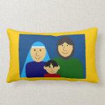 Holy Family Throw Pillows