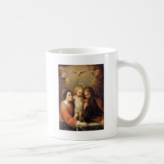 Holy Family with Cherubs by Gutierrez Basic White Mug