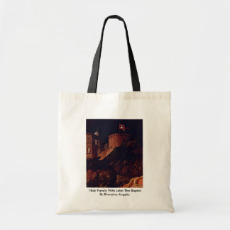 Holy Family With John The Baptist Canvas Bag
