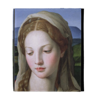 Holy Family with St. Anne and the infant St. John iPad Folio Cover
