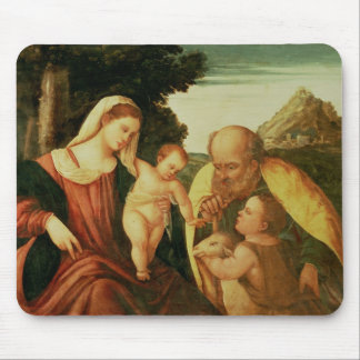 Holy Family with St. John Mouse Pad