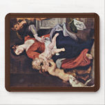 Holy Family With The Basket By Rubens Peter Paul Mouse Pad