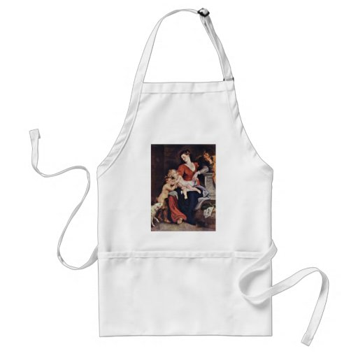 Holy Family With The Basket By Rubens Peter Paul Standard Apron