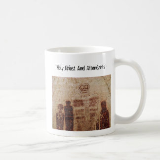 Holy Ghost And Attendants Basic White Mug