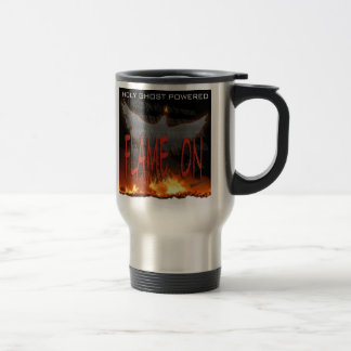 Holy Ghost Powered Stainless Steel Travel Mug