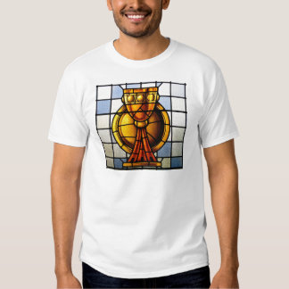 Holy Grail Stained Glass - Sacrament Tee Shirts