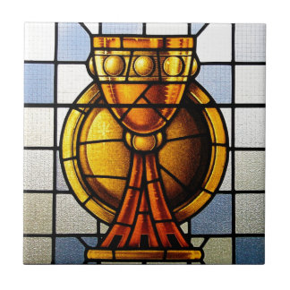 Holy Grail Stained Glass - Sacrament Tile