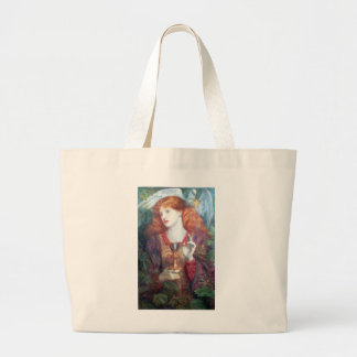 Holy Grail Woman & Chalice Tote Bags