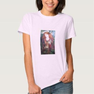 Holy Grail Woman & Chalice Tshirt