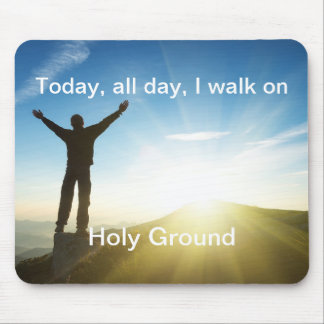 Holy Ground - Mousepad