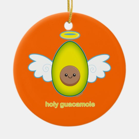 Holy Guacamole Christmas Ornament