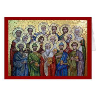 Holy Healers & Unmercenaries Orthodox card