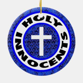 Holy Innocents Round Ceramic Decoration