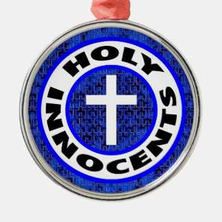 Holy Innocents Silver-Colored Round Decoration