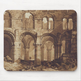Holy Island Cathedral, engraved by Charles Turner Mouse Pad