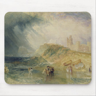Holy Island, Northumberland, c.1820 (oil on canvas Mouse Mat