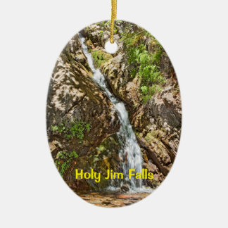 Holy Jim Falls Ceramic Oval Decoration