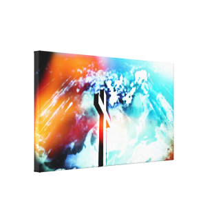 Holy Land Cross II Wrapped Canvas Canvas Print